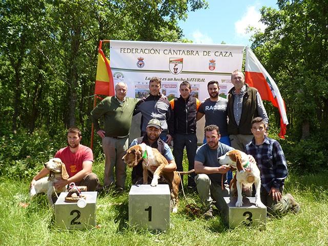 XXIII Campeonato Regional de Perros de Rastro Atraillados sobre Rastro de Jabalí