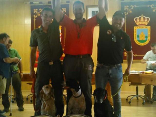 El Cántabro JOSE Mª VALERA Subcampeón de España de San Huberto