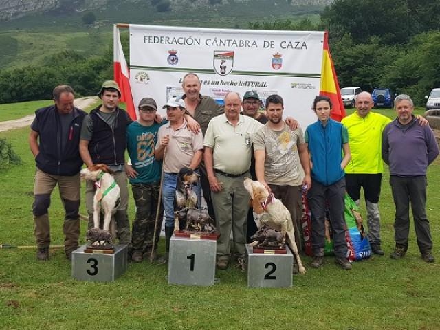 Campeonato Regional Rastro Jabalí 2017