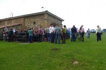 El pasado sábado tuvo lugar la celebración de la fiesta de los cazadores de San Huberto en el Moral