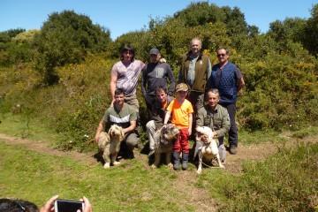 Campeonato Social de Perros de Rastro Atraillado sobre Rastro de Jabalí